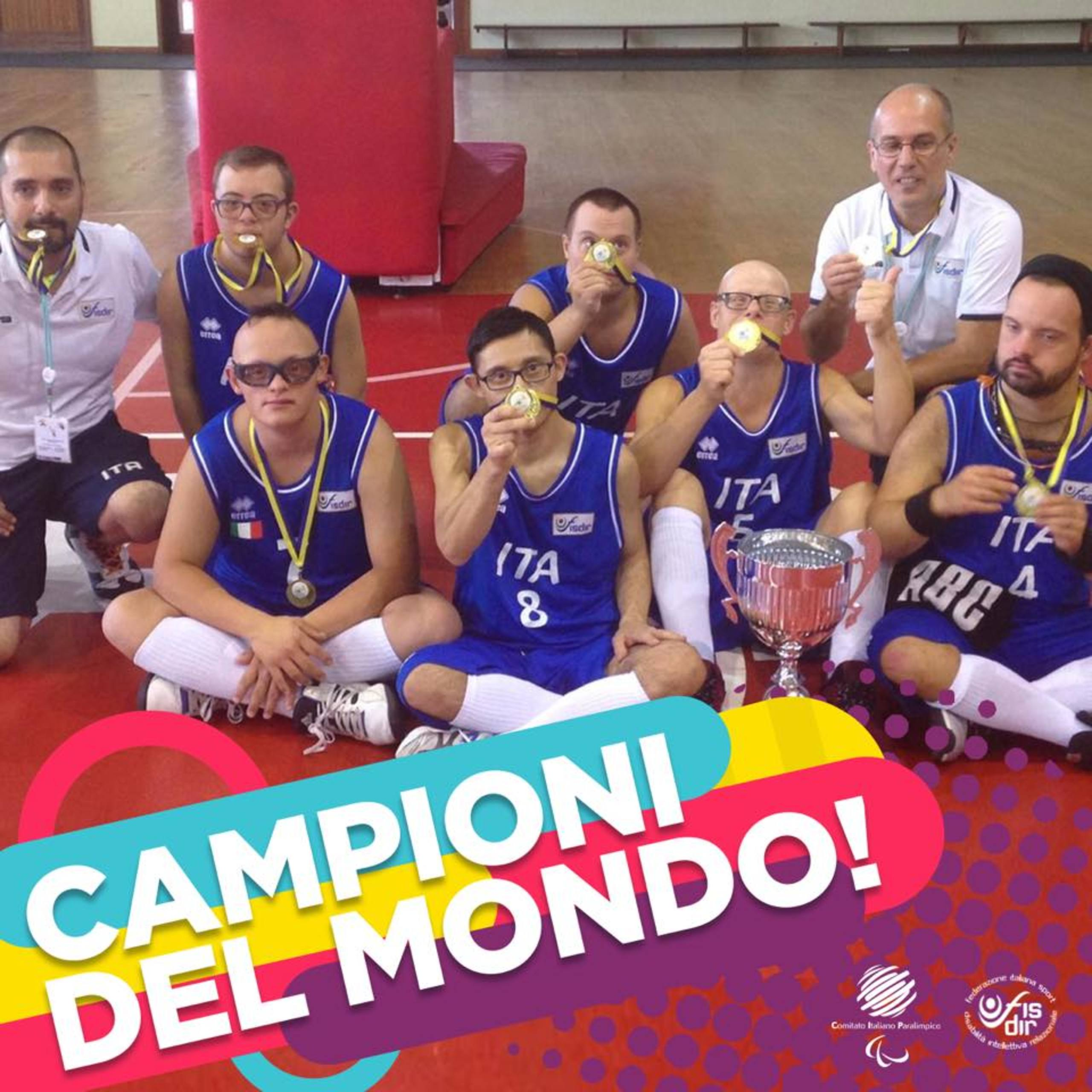 Nazionale italiana di Basket + Sindrome di Down = campione del mondo - Featured image